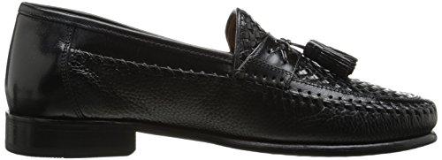 Black Florsheim Loafer On Slip Men's Moc Tassel Swivel Woven SwgWa8S6q