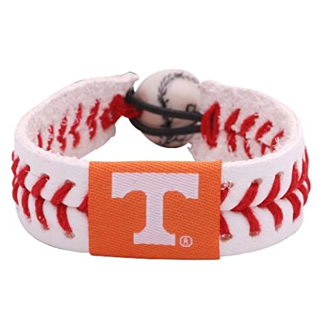 NCAA Tennessee Volunteers Classic Baseball Bracelet - Gamewear Sports Bracelet