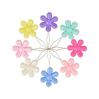 DS. DISTINCTIVE STYLE Needle Threaders Hand Sewing Kit 20 Pieces Sewing Needle Threaders for Cross Stitch Embroidery (Flower)