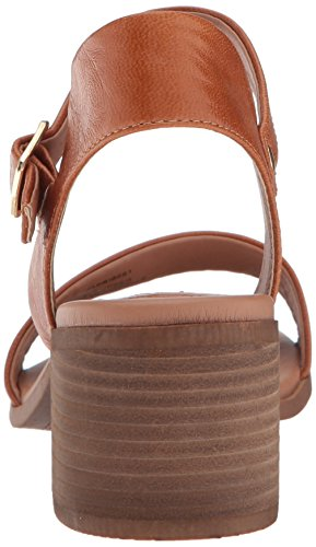 Madden Heeled Steve Cognac Sandal Leather April Women's dtqqwBa