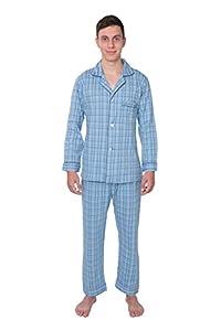 Bill Baileys Mens Sleepwear 100% Cotton Knit Pajama Set