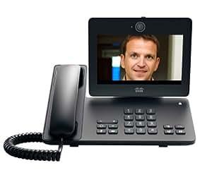 Cisco DX650 - Teléfono IP (LCD, 1024 x 600 Pixeles, 10 Negro