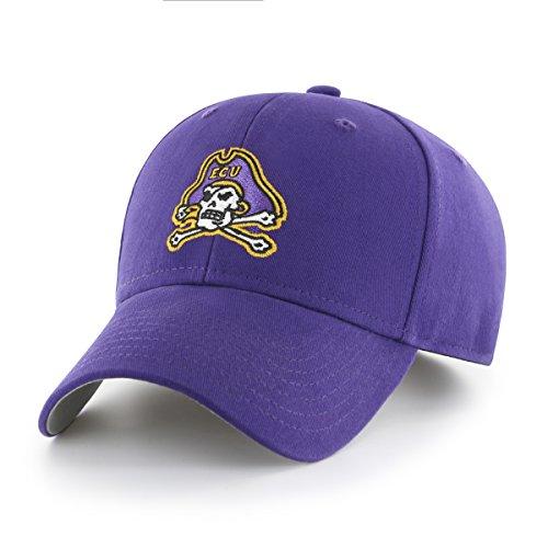 NCAA East Carolina Pirates Children Cinch Ots All-Star MVP Adjustable Hat, Kids, Purple