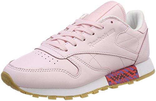 歯科医アサート抗議Reebok Classic Womens Leather Sneakers Old Meets New [並行輸入品]