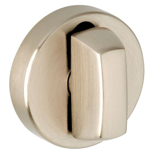 Baldwin 6760 Modern Round Turn Piece for Baldwin Estate Collection, Lifetime Satin ()