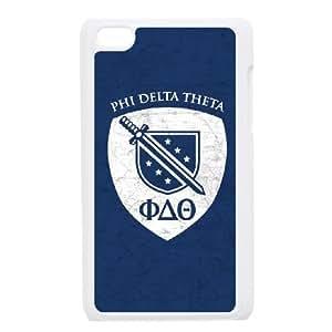iPod Touch 4 Case White Phi Delta Theta Bruised SU4341523