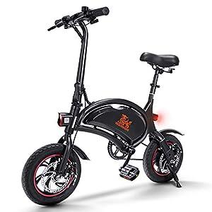 41 bKuP%2BeZL. SS300 urbetter Bicicletta Elettrica Pieghevole, velocità Massima 25 km/h, 36V 10Ah Batteria Autonomia 40-60 Km, Sedile…