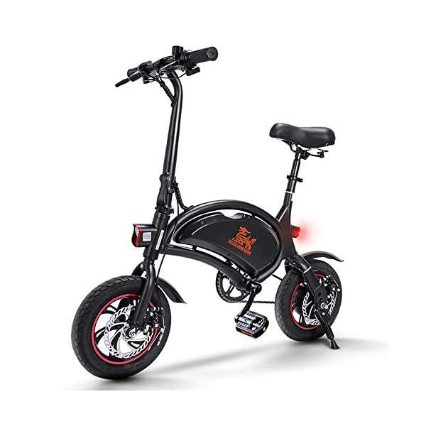 €479.99 urbetter Bicicletta Elettrica Pieghevole, velocità ...