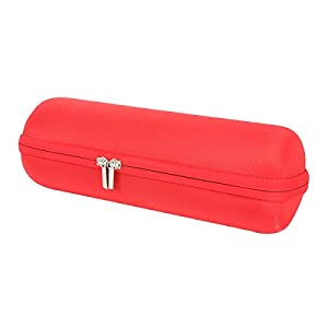 for JBL Charge 3 Bluetooth Speaker Hard Case fits Wall Charger -Red by co2CREA