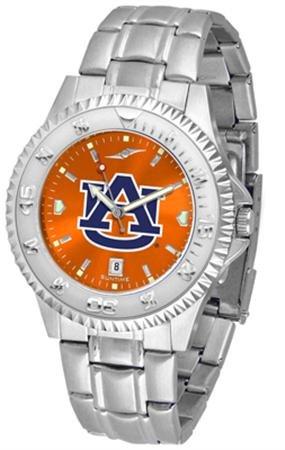 Linkswalker Mens Auburn Tigers Competitor Steel Anochrome Watch