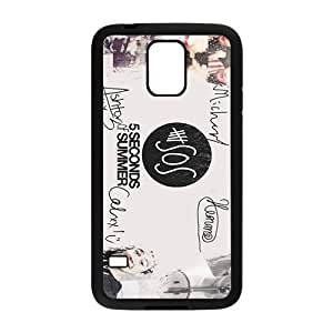 5 Seconds Of Summer Fashion Comstom Plastic case cover For Samsung Galaxy S5