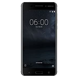 Nokia N6 Factory Unlocked Phone - 5.5Inch Screen - 64GB - Art Black (U.S. Warranty)