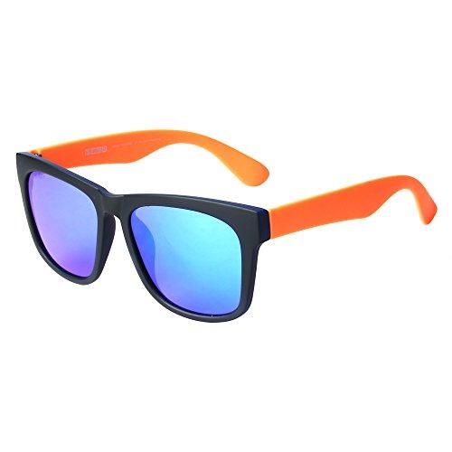 bein de rahmen Jimmy para sol hombre Orange Gafas schwarz orange xwqwBazE