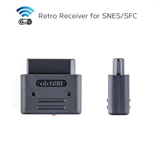 Retro Receiver Bluetooth for SNES SFC Adapter For 8bitdo,