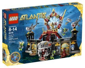 LEGO ( LEGO ) Atlantis Portal of Atlantis (8078) block toys ( parallel imports )
