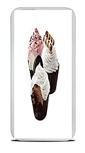 Ice Cream With Toppings Yum White Silicone Case for iPhone 6 (4.7)