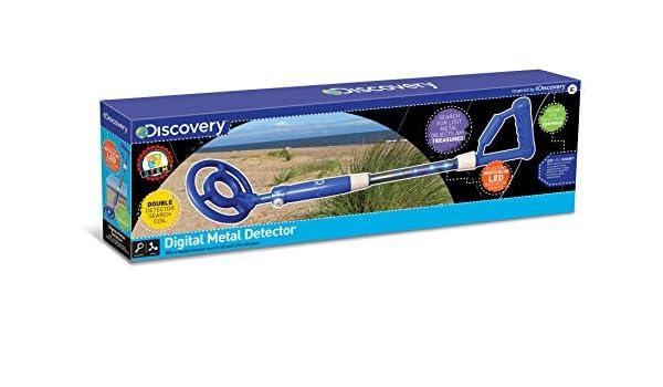 Discovery Channel - Detector de Metal D28 con Luces LED, de ...