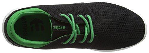 Etnies KIDS SCOUT - Zapatillas de skate Unisex Niños Negro - Schwarz (985 / BLACK/GREEN)