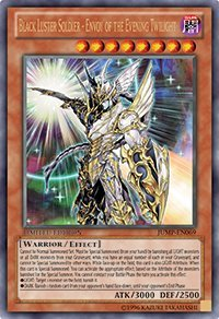 (3X) - Yu-Gi-Oh! Black Luster Soldier Envoy Of The Evening Twilight Ultra Rare Limited JUMP-EN069 PROMO card X3 (Black Luster Soldier Envoy Of The Evening)