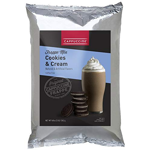 (Cappuccine Extreme Toffee Coffee Frappe Mix (Cookies and Cream))