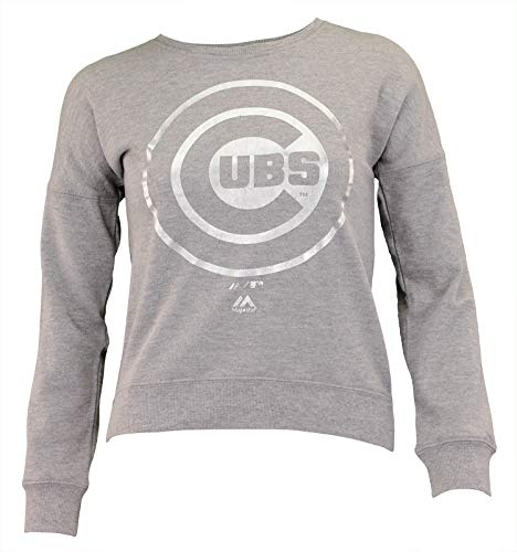 - Outerstuff MLB Big Girl's (7-16) Dancing in The Dugout Pullover Crew Neck, Chicago Cubs Medium (10-12)