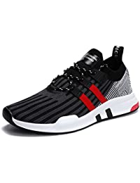 Mens Running Shoes Breathable Fashion Sneakers Lightweight Athletic Walking Footwear for Men