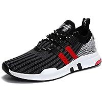 XIDISO Mens Running Shoes Breathable Cross Training Shoe Slip On Sneakers Lightweight Athletic Walking Footwear for Men