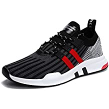 XIDISO Mens Running Shoes Breathable Fashion Sneakers Lightweight Athletic Walking Sport Cheap Shoe for Men