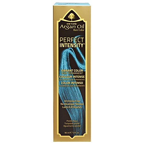 One 'n Only Perfect Intensity Pastel Aqua Semi Permanent Hair Color Pastel Aqua