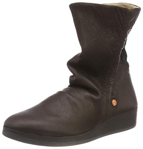 Brown Botines dk teckel Smooth Azi461sof 001 Para Mujer Marrón Leather Softinos gR8TC