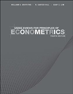 Principles of econometrics 9780470626733 economics books amazon using eviews for principles of econometrics fandeluxe Choice Image