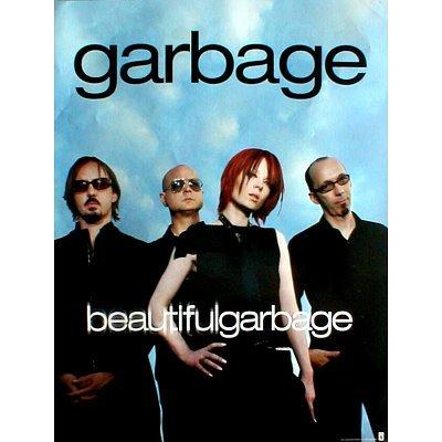 Garbage Beautiful Original Music Poster Shirley Manson