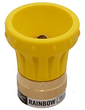 Underhill HN1500 Precision Rainbow Hose Nozzle, 15 GPM at 80 PSI, 3/4-Inch Hose Thread