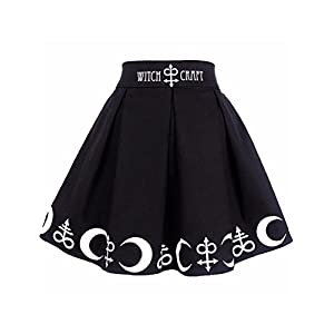 Halloween Witchcraft Magic Symbols Mini Skirt