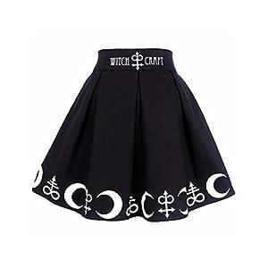 Halloween Witchcraft Magic Symbols Mini Skirt