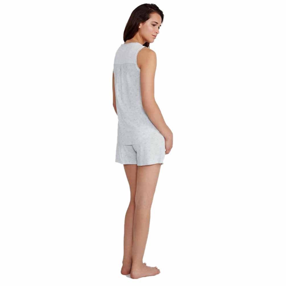 PROMISE Pijama de algodón sin Mangas N05392 - Gris Vigore, XL: Amazon.es: Ropa y accesorios