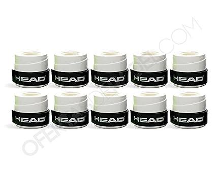 Overgrip Head Xtremesoft Blanco (10): Amazon.es: Deportes y ...