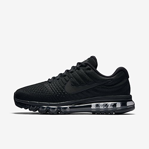 Price comparison product image Men's Air Max 2017 Running Shoe 849559-004 (8 US,  Black)