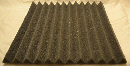 FoamEngineering Acoustic Panels Studio Soundproofing Foam Wedge Tiles, 12 X 12-Inches, 48 Pack - Image 3