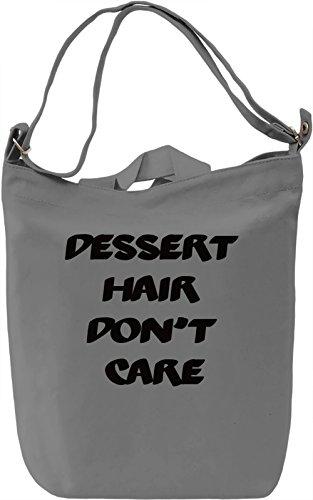 Don't Care Borsa Giornaliera Canvas Canvas Day Bag| 100% Premium Cotton Canvas| DTG Printing|