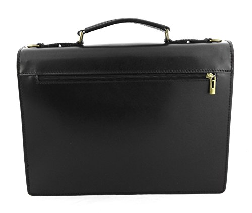 Hand Men Leather 3 4 Leather Bordeaux 7 inchs Luggage 5 14 11 x Bordeaux Zerimar Briefcase Measures x Colour qvpXdtt