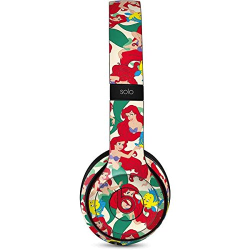 The Little Mermaid Beats Solo 2 Wireless Skin - Ariel and Flounder Pattern Vinyl Decal Skin For Your Beats Solo 2 Wireless