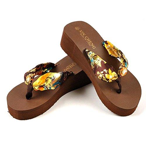 DDLBiz Bohemia Sandals Platform Slippers