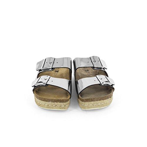 KOALA BAY, Sandali donna argento