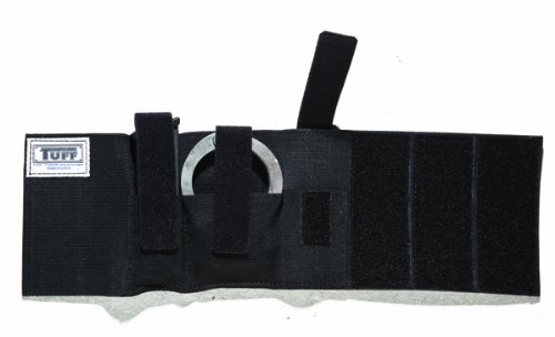 - TUFF Ankle Stabilizer II, Fits Handcuffs and Magazine or Light (Black Elastic)
