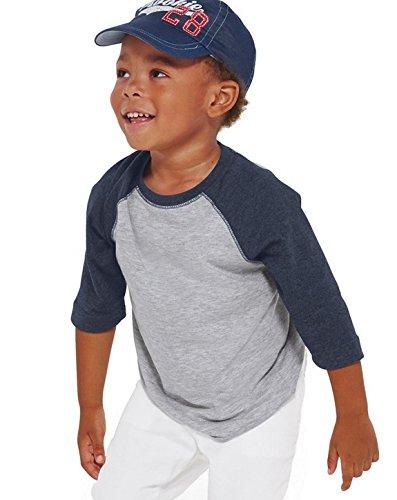 5a9bbb2a0d5e0 Rabbit Skins 100% Cotton Blank Toddler Baseball Jersey Tee Short Sleeve  T-Shirt - Buy Online in Oman.
