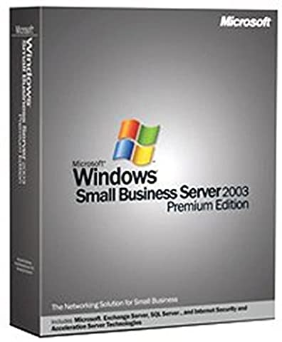 Microsoft Windows Small Business Server Premium 2003 English (5 Client) [Old Version] (Office Small Business Premium)