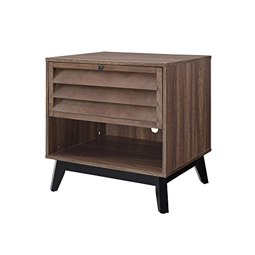 Ameriwood Home Vaughn Accent Table, Walnut ()