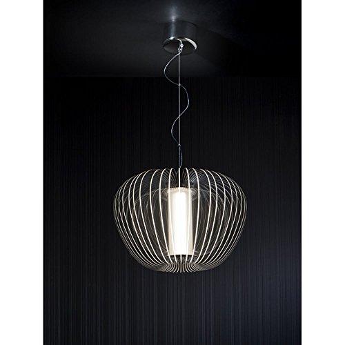 Schuller Spain 892519I4L Modern Chrome Open Oval Ceiling Pendant Dining Room, Living Room, Bedroom LED | ideas4lighting by Schuller