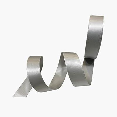 1 Inch Wide Double Face Satin Ribbon No Fading Woven Ribbon - 25 Yard